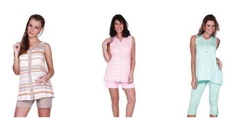 Camisola - Pijama - Recco -  By2  - Yoga - Center - Cintas