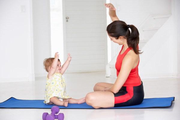 Exercícios pós parto