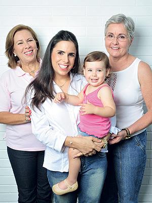 Gerações de mulheres corajosas.