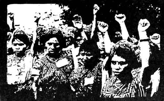 greve de  mulheres em fábrica